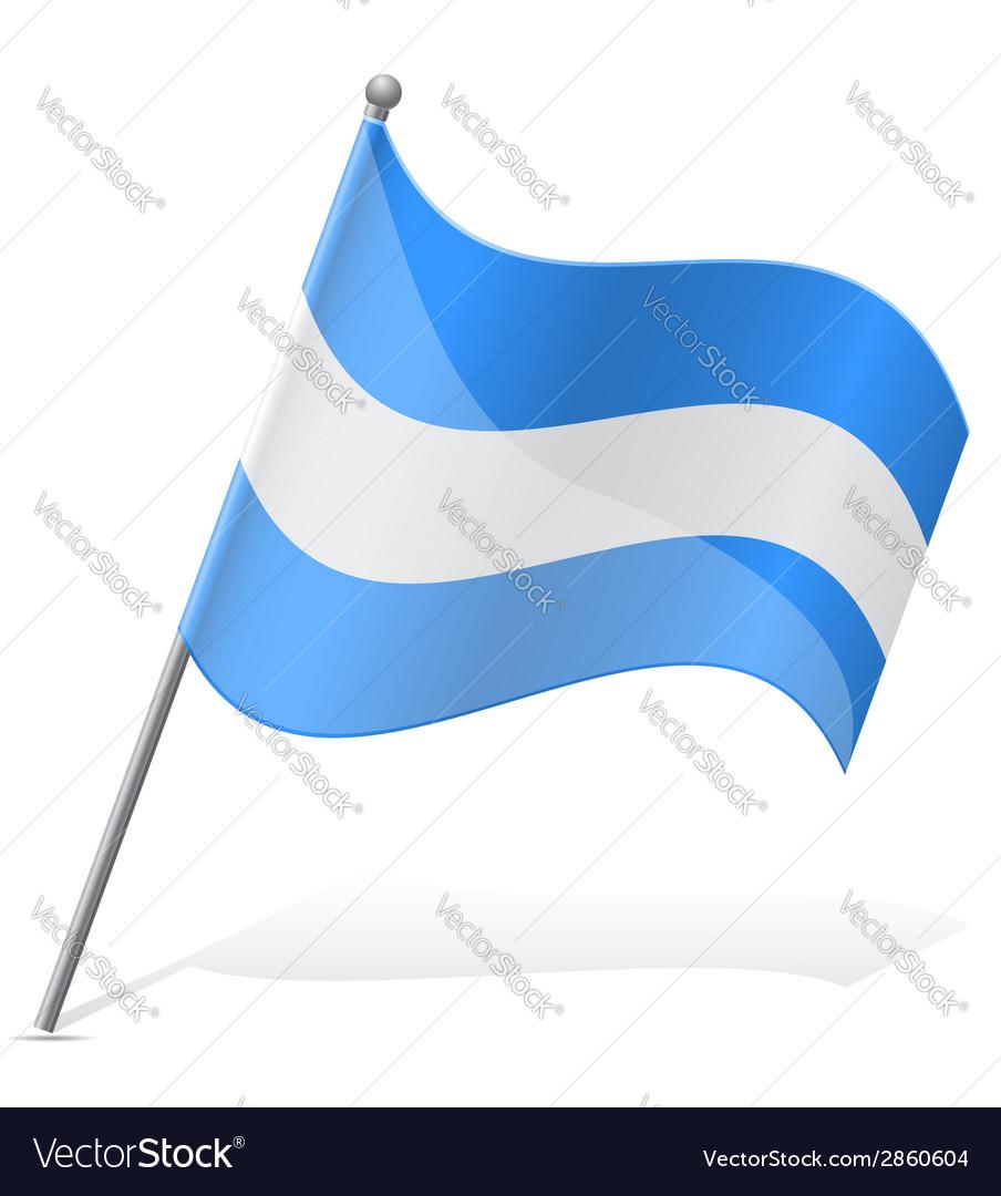 Flag of nicaragua vector | Price: 1 Credit (USD $1)