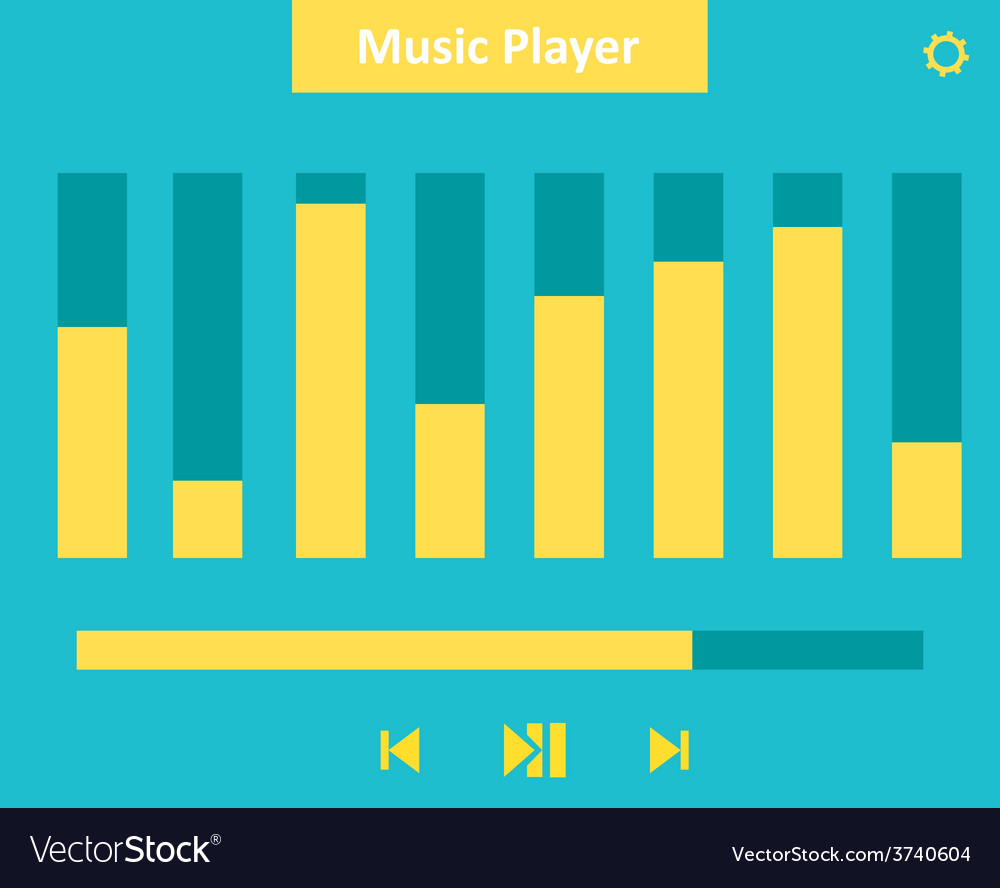 Music player 36 vector | Price: 1 Credit (USD $1)