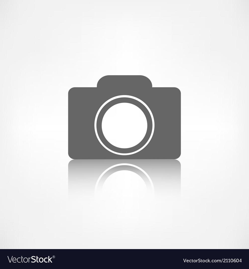 Photo camera icon photography vector | Price: 1 Credit (USD $1)
