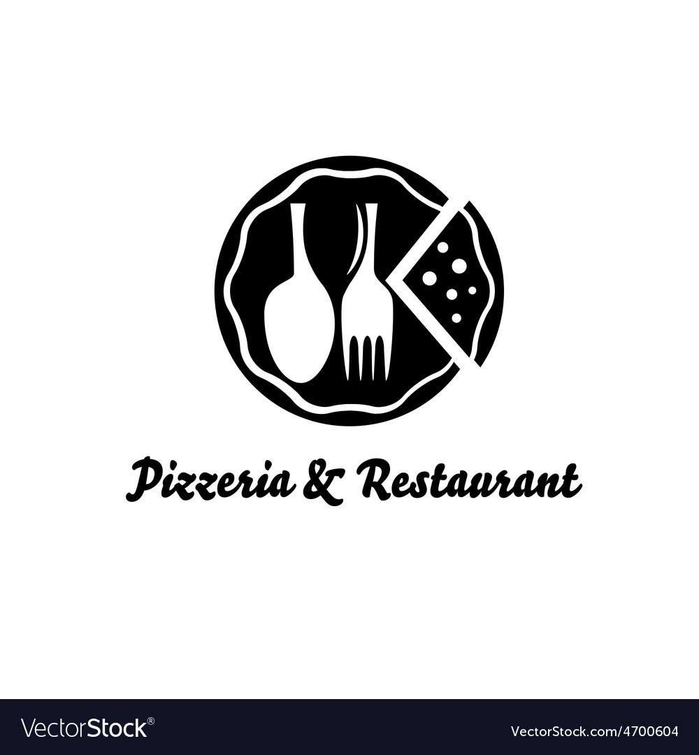 Pizzeria and restaurant design template vector   Price: 1 Credit (USD $1)