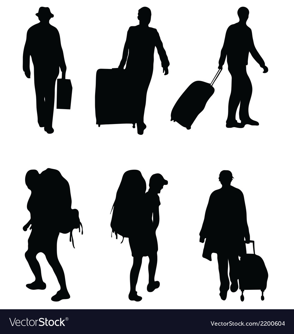 Travelers vector | Price: 1 Credit (USD $1)