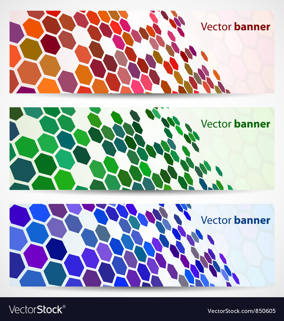 Abstract digital banners vector | Price: 1 Credit (USD $1)