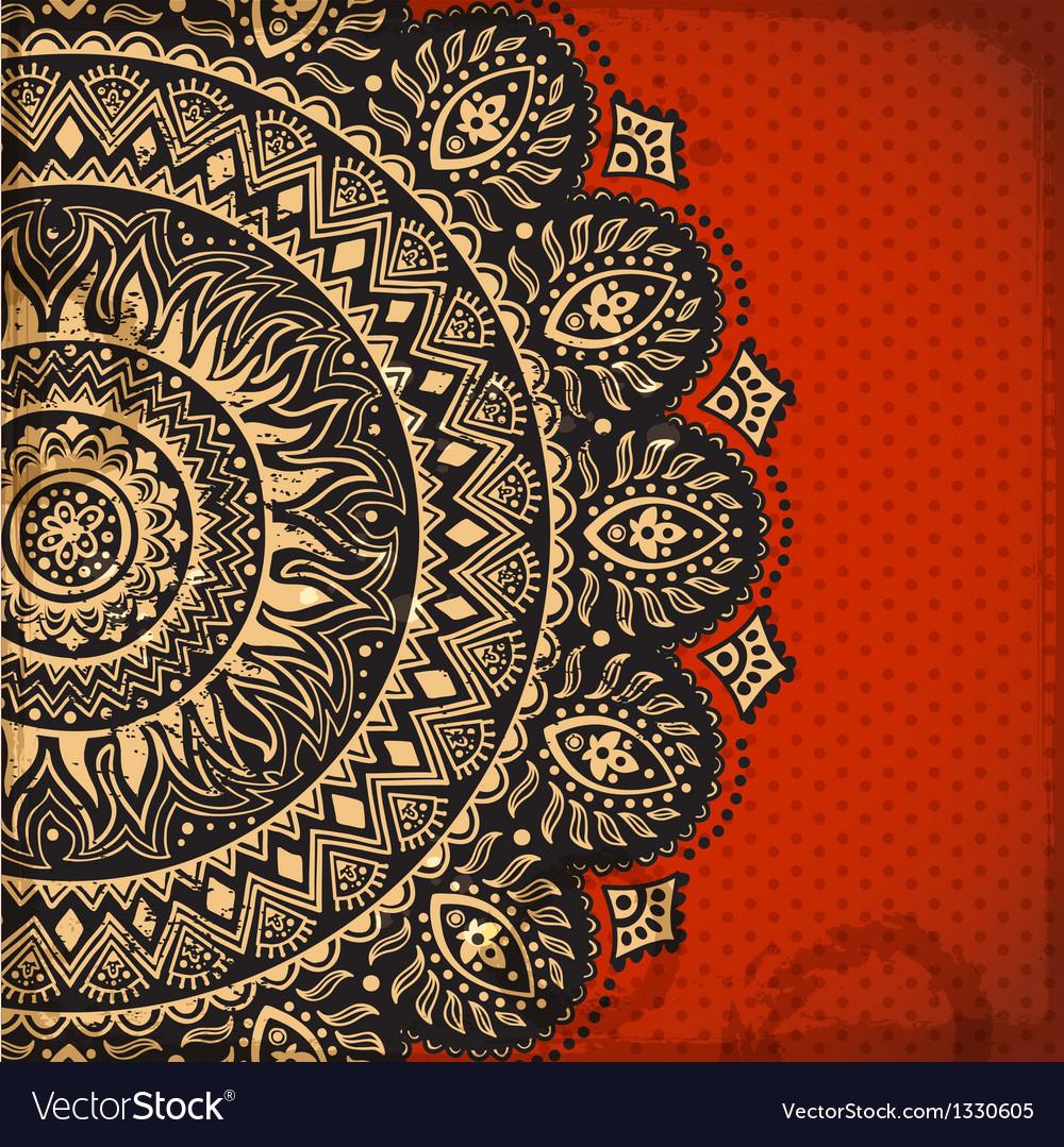 Beautiful ornament vector | Price: 1 Credit (USD $1)