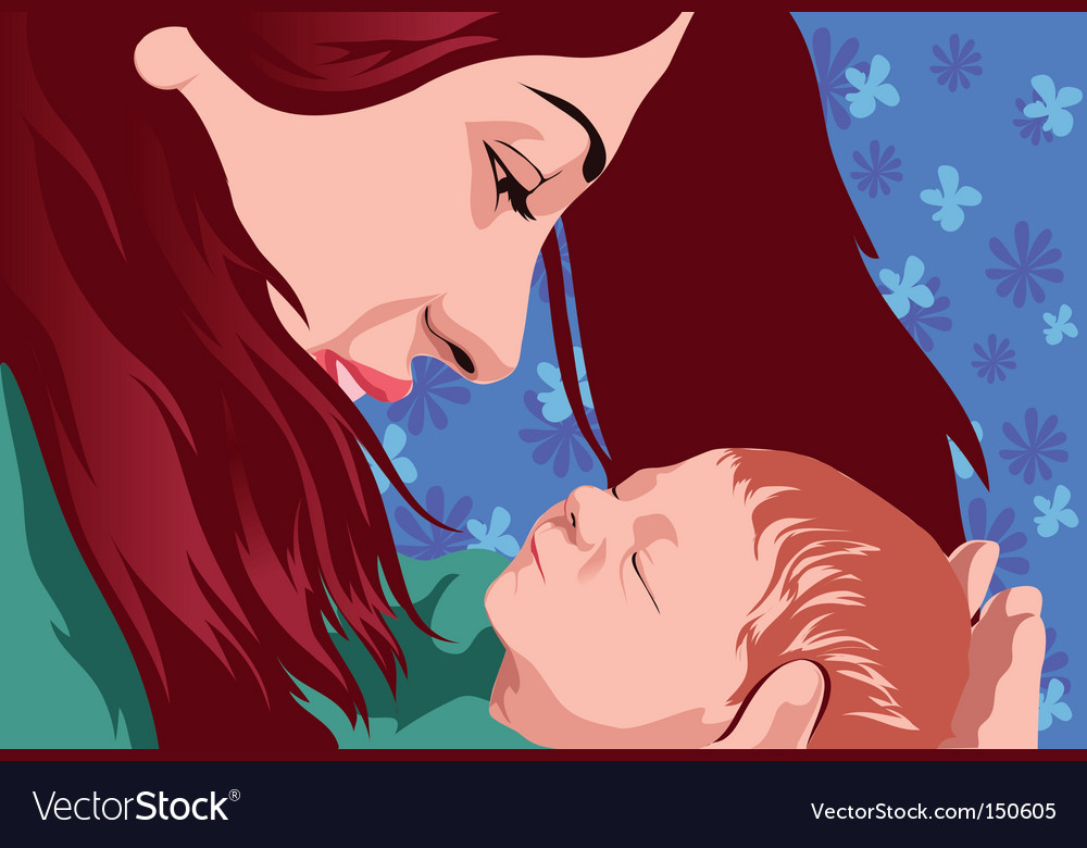 New born vector | Price: 1 Credit (USD $1)