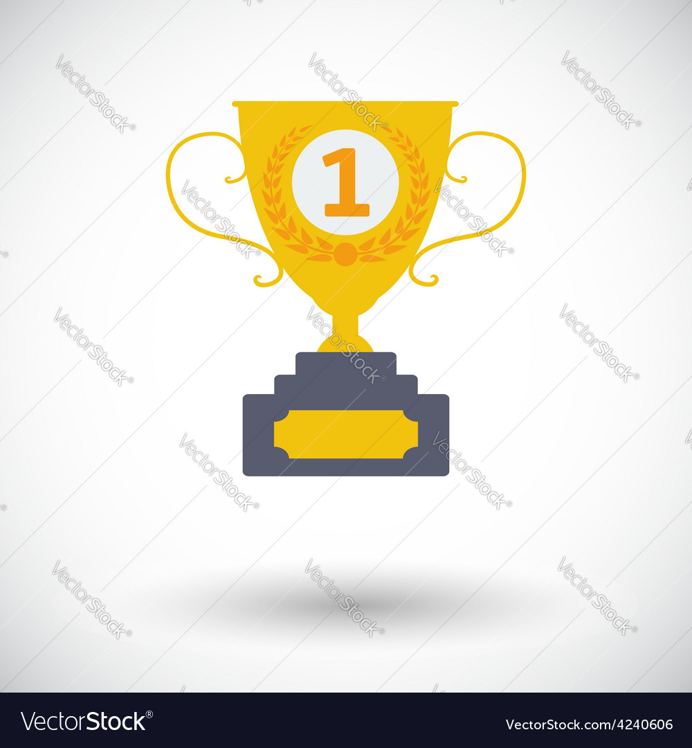 Cup single icon vector   Price: 1 Credit (USD $1)