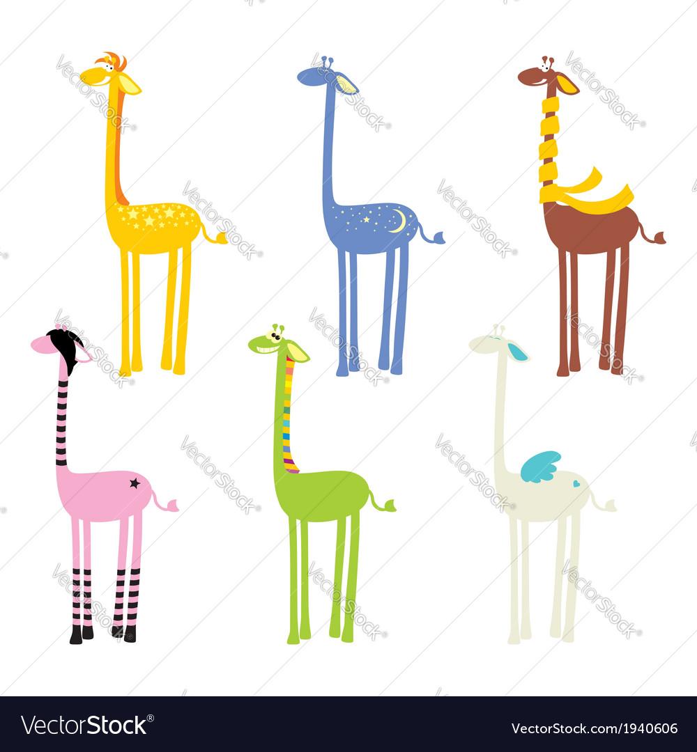 Cute giraffe seamless vector   Price: 1 Credit (USD $1)