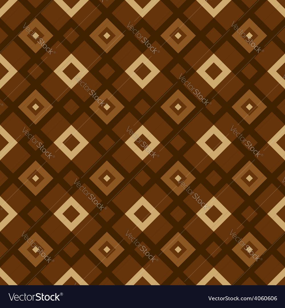 Geometric pattern brown vector | Price: 1 Credit (USD $1)