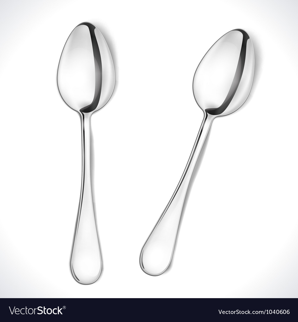 Isolated spoon vector | Price: 1 Credit (USD $1)