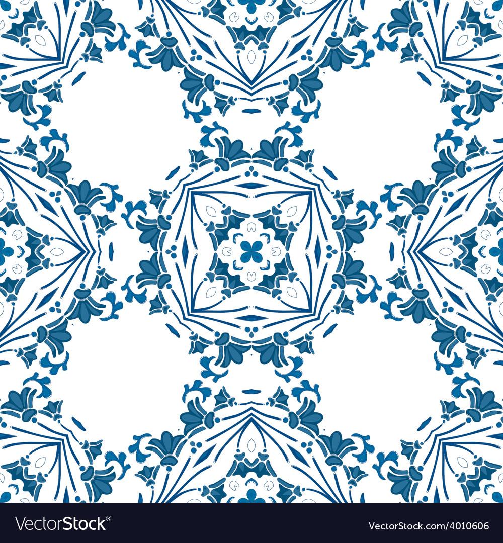 Portuguese tiles vector | Price: 1 Credit (USD $1)