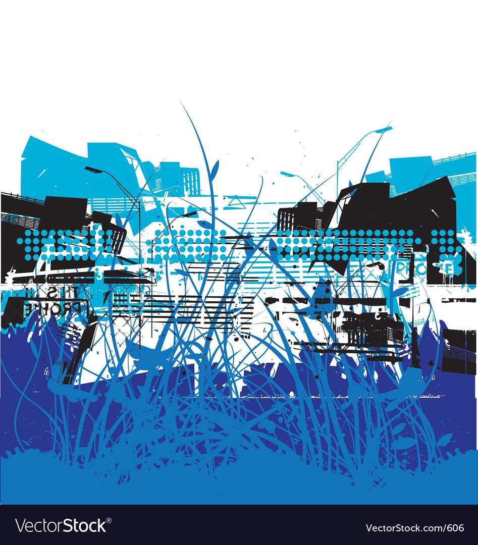 Urban atmosphere vector