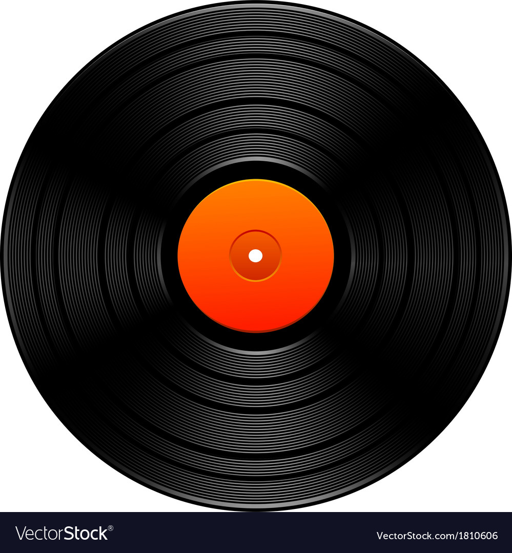 Vintage vinyl vector | Price: 1 Credit (USD $1)