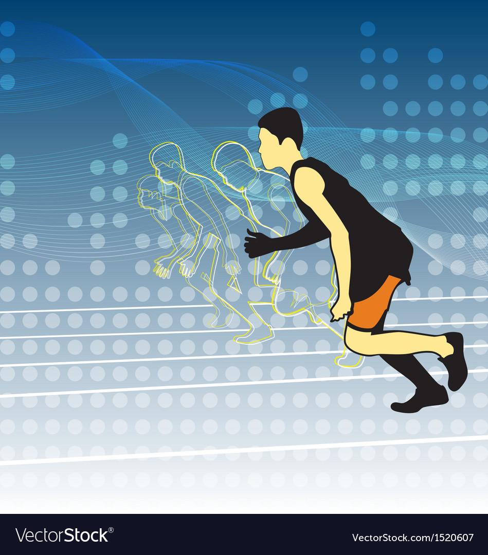 Athletics vector | Price: 1 Credit (USD $1)