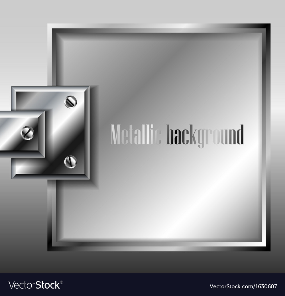 Metal plate background vector | Price: 1 Credit (USD $1)