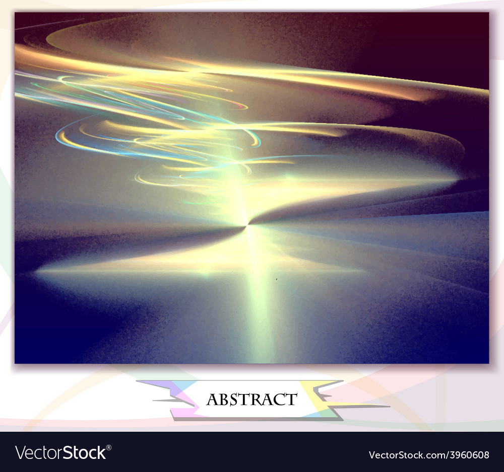 Dawn abstract background vector | Price: 1 Credit (USD $1)
