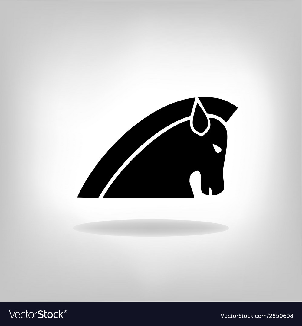 Image of a horse vector | Price: 1 Credit (USD $1)