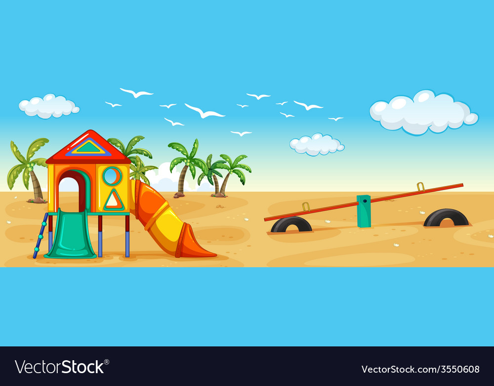 Playground vector | Price: 3 Credit (USD $3)