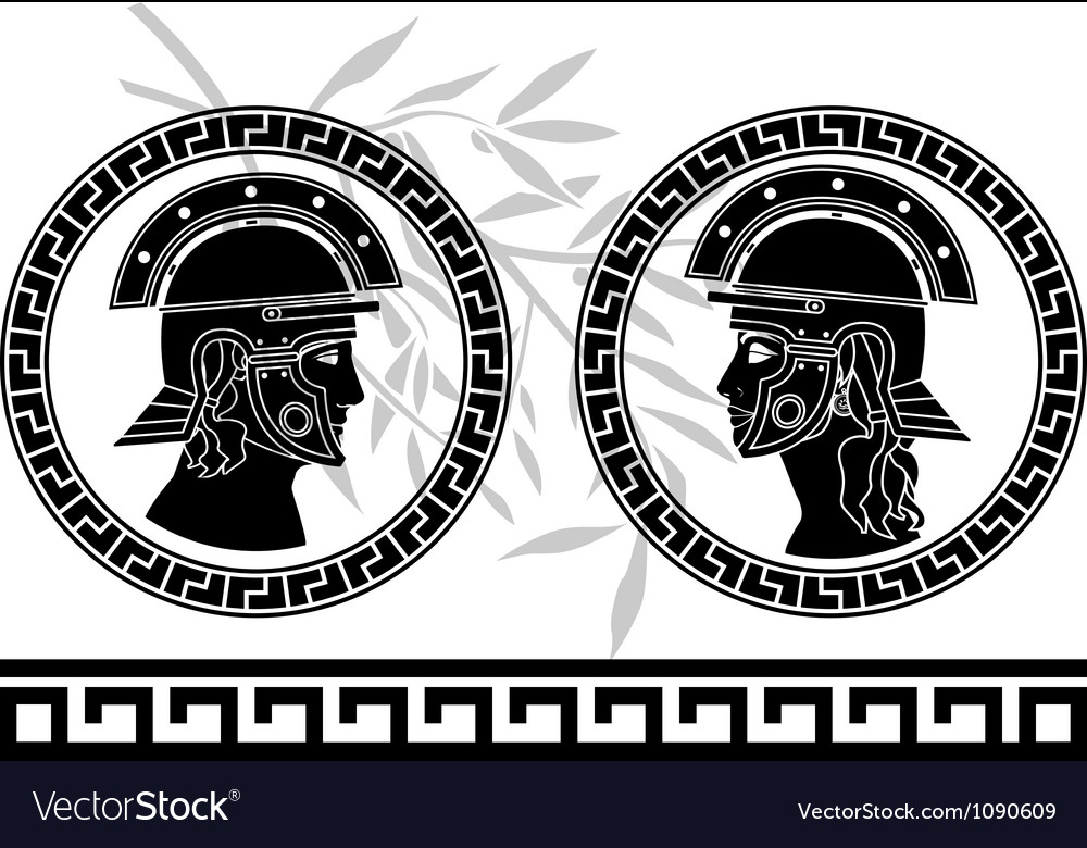 Roman god and goddess vector | Price: 1 Credit (USD $1)