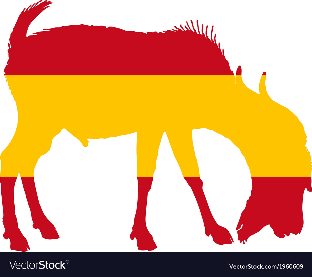Spanish he-goat vector | Price: 1 Credit (USD $1)
