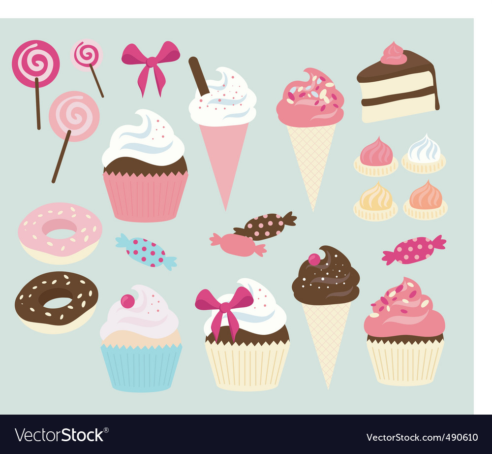 Cake shop vector | Price: 1 Credit (USD $1)