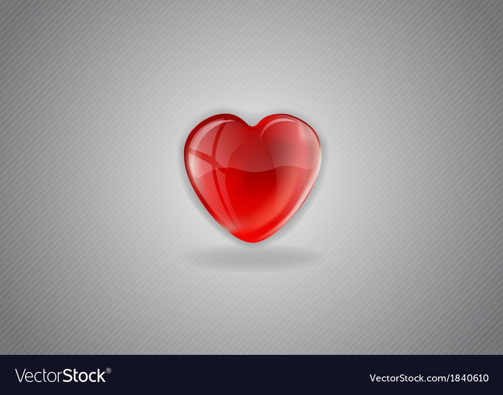 Heart grey background ii vector | Price: 1 Credit (USD $1)