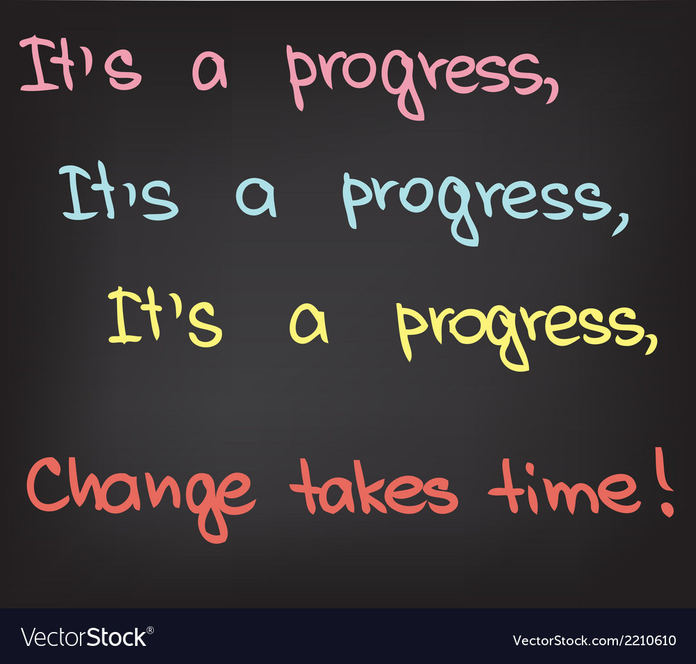 Its a progress vector | Price: 1 Credit (USD $1)