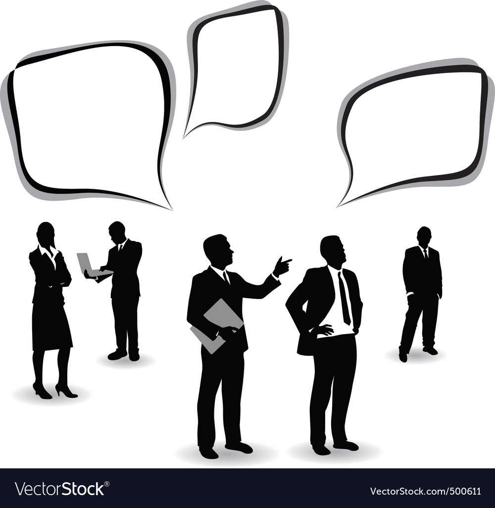 Business people vector | Price: 1 Credit (USD $1)