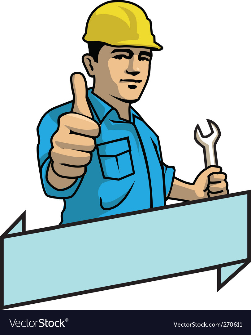 Handyman vector | Price: 1 Credit (USD $1)