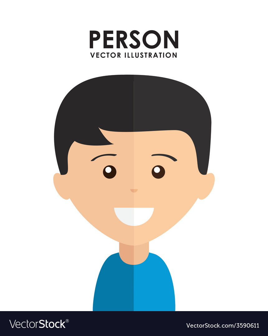 Person avatar vector | Price: 1 Credit (USD $1)