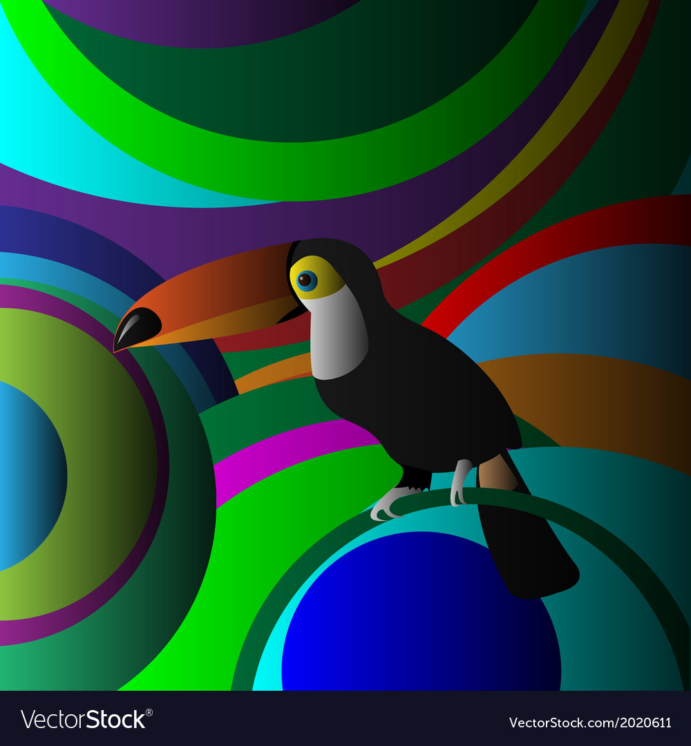Toucan vector | Price: 1 Credit (USD $1)