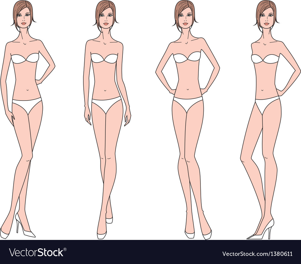 Woman fashion figure vector | Price: 1 Credit (USD $1)