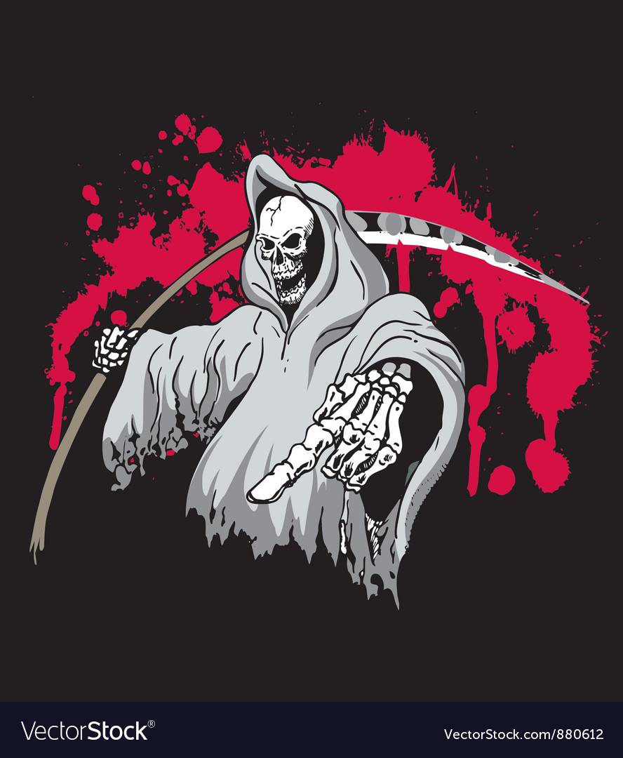 Grim reaper vector | Price: 3 Credit (USD $3)