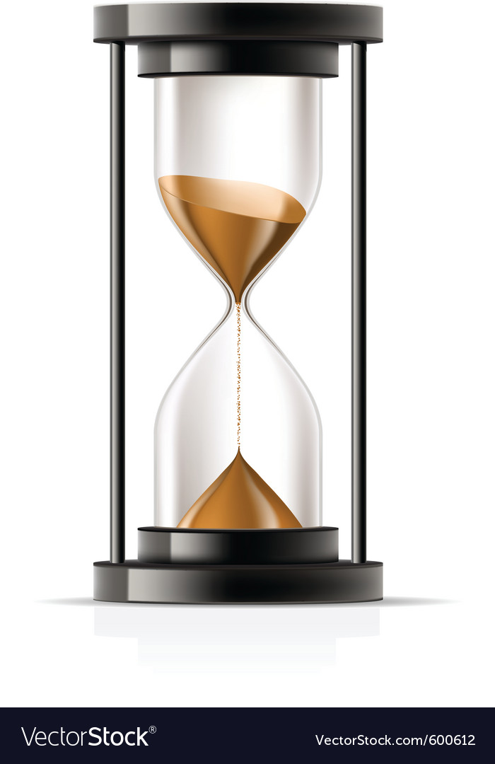 Hourglass vector | Price: 3 Credit (USD $3)