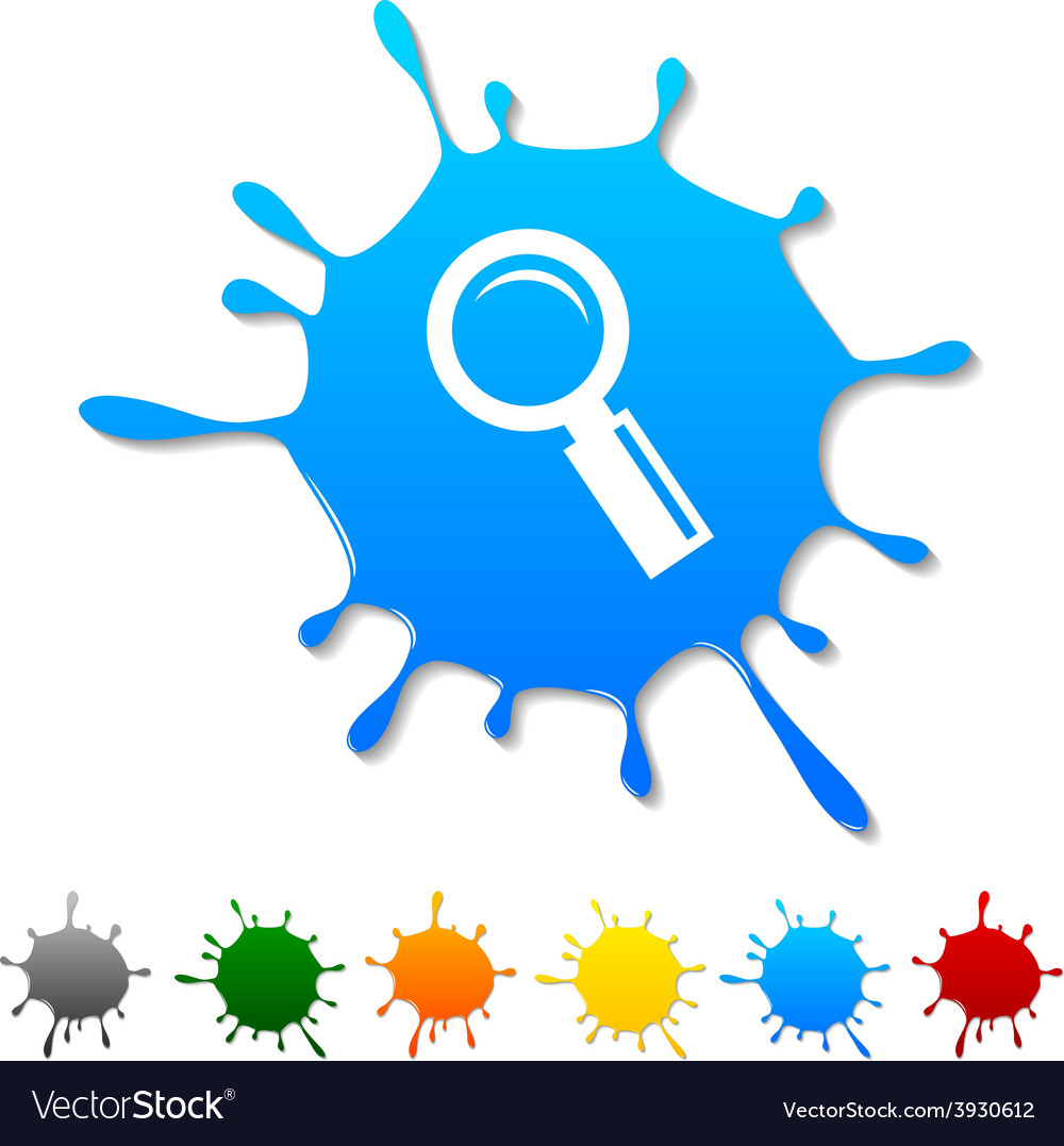 Searching blot vector | Price: 1 Credit (USD $1)