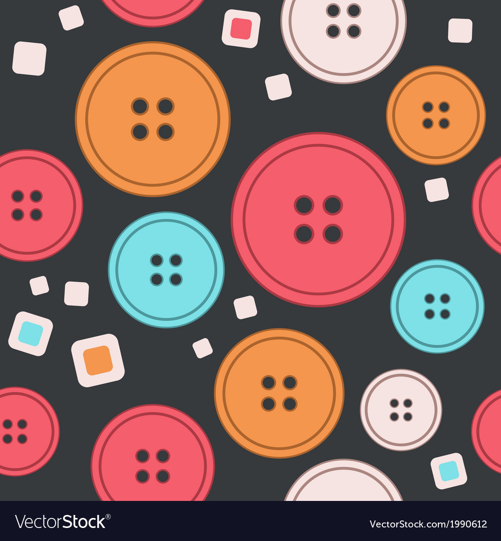 Sew seamless pattern vector | Price: 1 Credit (USD $1)