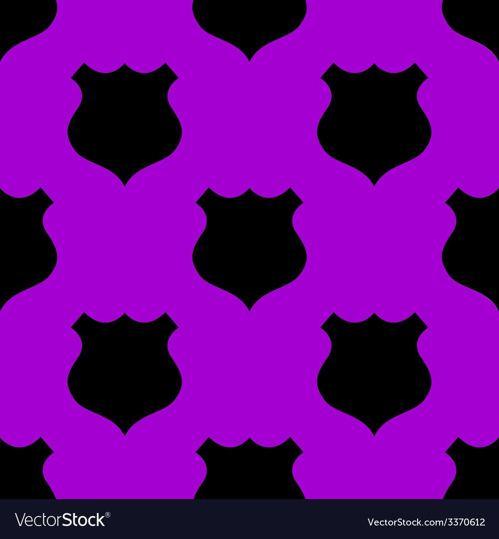 Shield web icon flat design seamless gray pattern vector   Price: 1 Credit (USD $1)