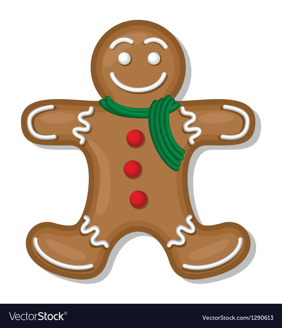Gingerbread man vector | Price: 1 Credit (USD $1)