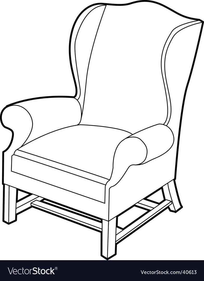 Lounge chair vector | Price: 1 Credit (USD $1)
