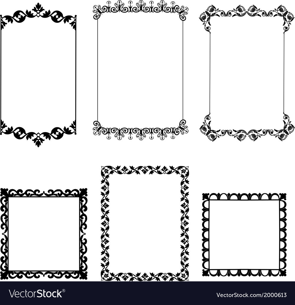 Set frame vector | Price: 1 Credit (USD $1)