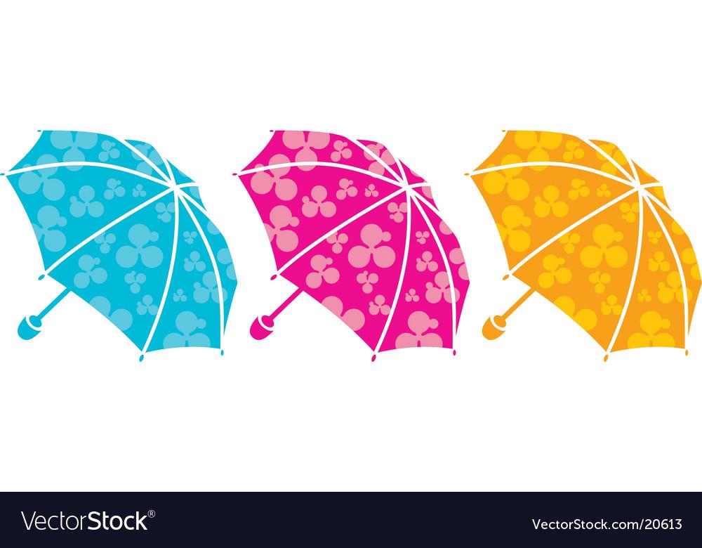 Tree umbrellas vector   Price: 1 Credit (USD $1)