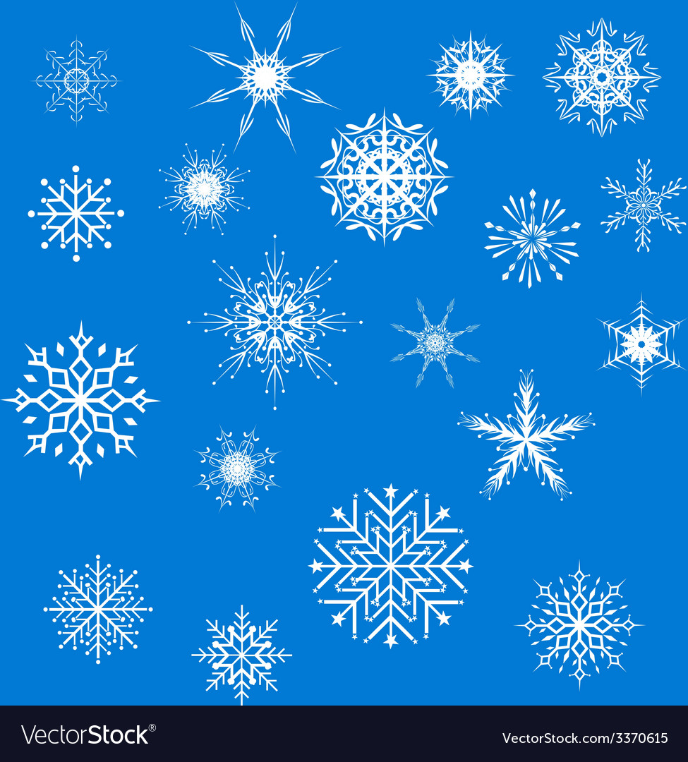 Snowfake vector | Price: 1 Credit (USD $1)