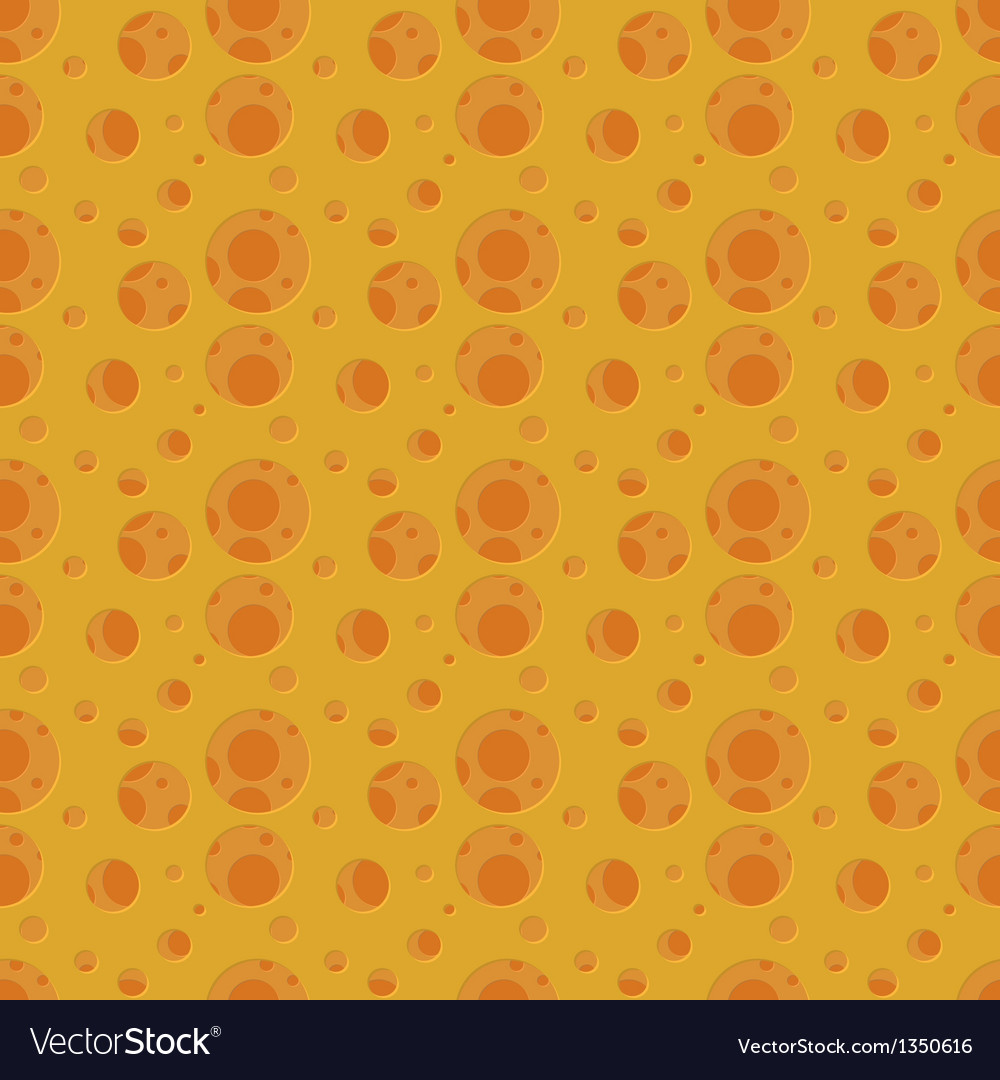 Abstract cheese hole pattern vector | Price: 1 Credit (USD $1)