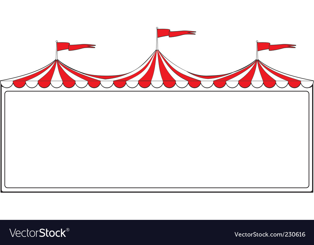 Circus border vector | Price: 1 Credit (USD $1)
