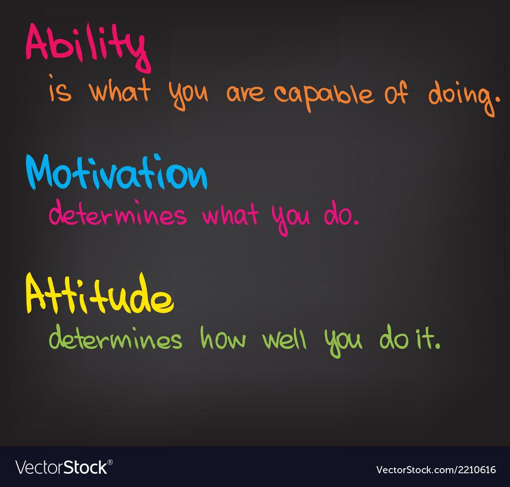 Motivation words vector   Price: 1 Credit (USD $1)