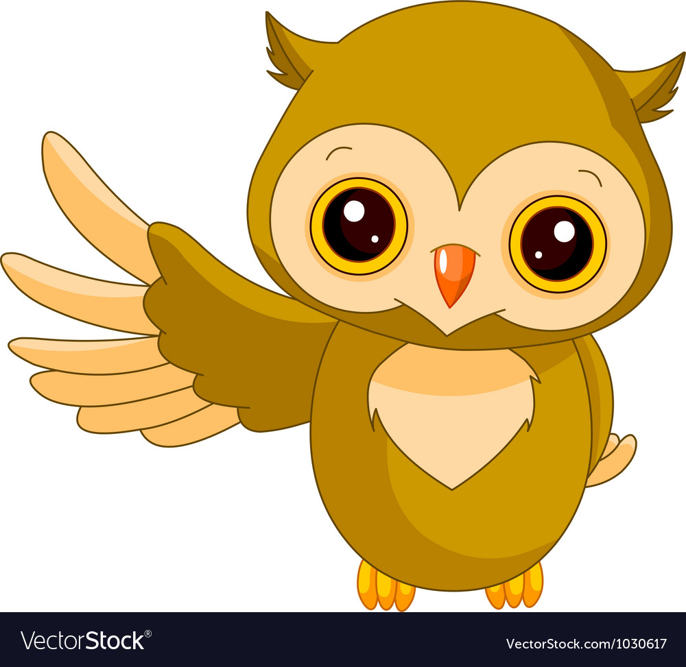 Fun zoo owl vector | Price: 3 Credit (USD $3)