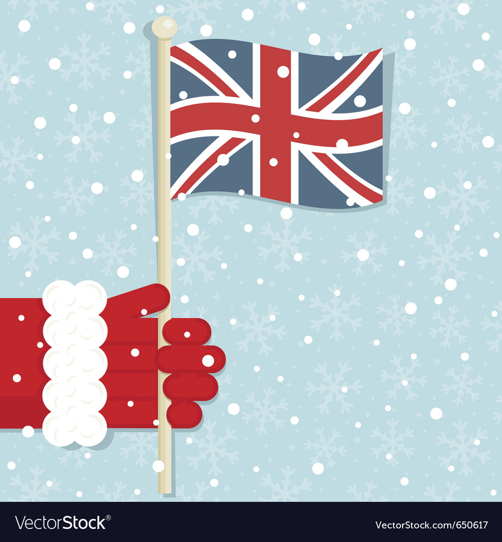 Great britain christmas vector | Price: 1 Credit (USD $1)