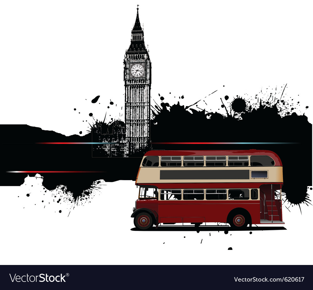 London border vector | Price: 1 Credit (USD $1)