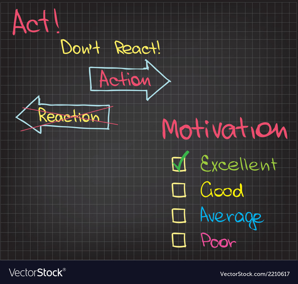 Motivation action vector | Price: 1 Credit (USD $1)