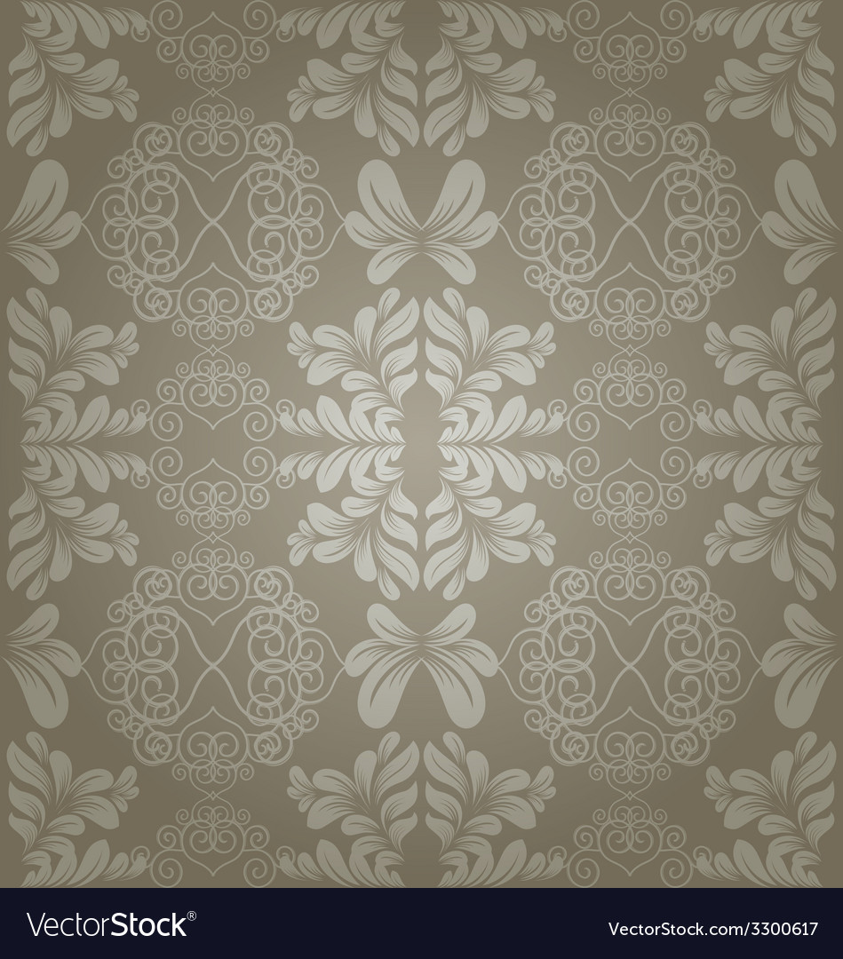 Seamless floral pattern vector   Price: 1 Credit (USD $1)