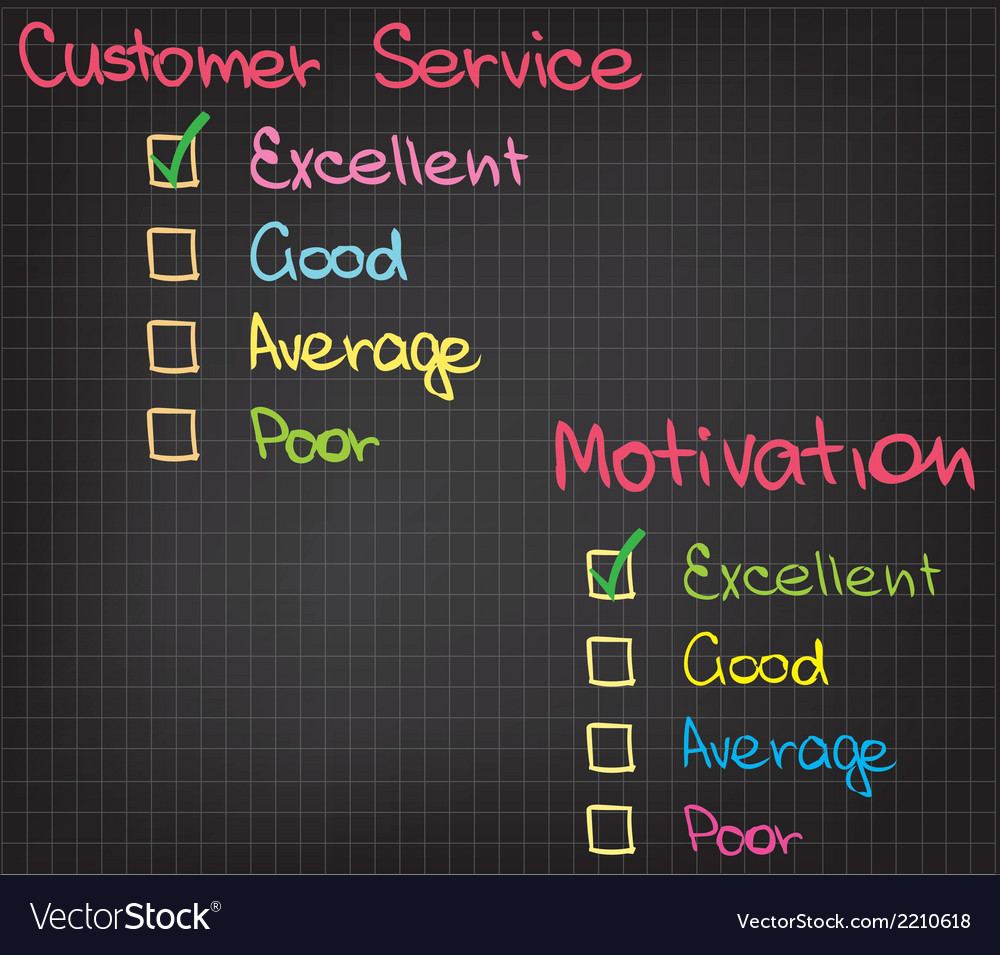Motivation customer service vector   Price: 1 Credit (USD $1)