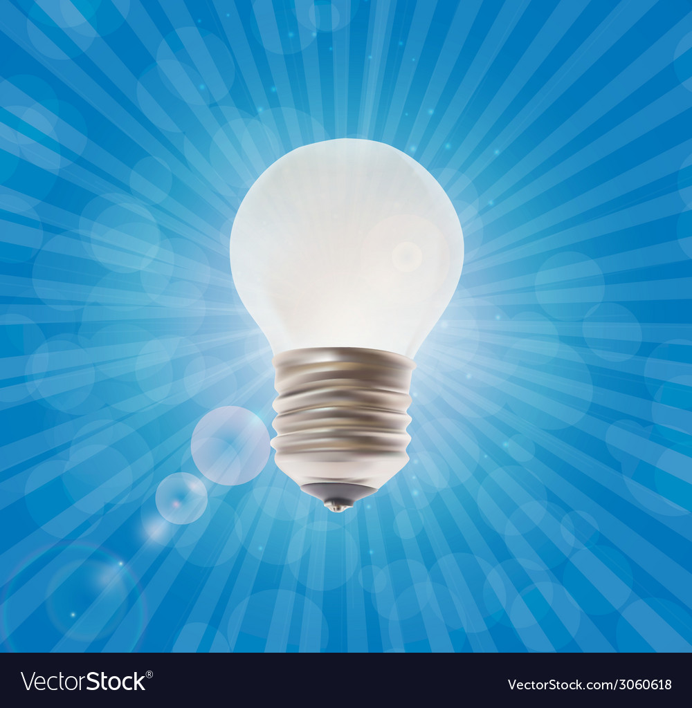 White lamp on the background vector | Price: 1 Credit (USD $1)